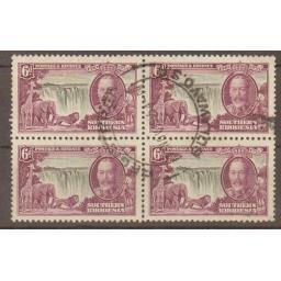 southern-rhodesia-sg34-1935-6d-silver-jubilee-used-block-of-4-716910-p.jpg