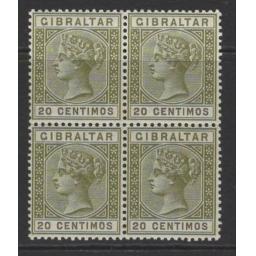 gibraltar-sg24-1896-20c-olive-green-brown-mnh-block-of-4-716128-p.jpg