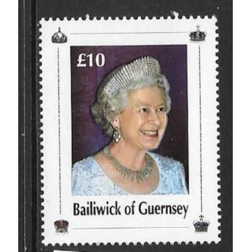 GUERNSEY SG1122 2006 80th BIRTHDAY OF QUEEN ELIZABETH II MNH