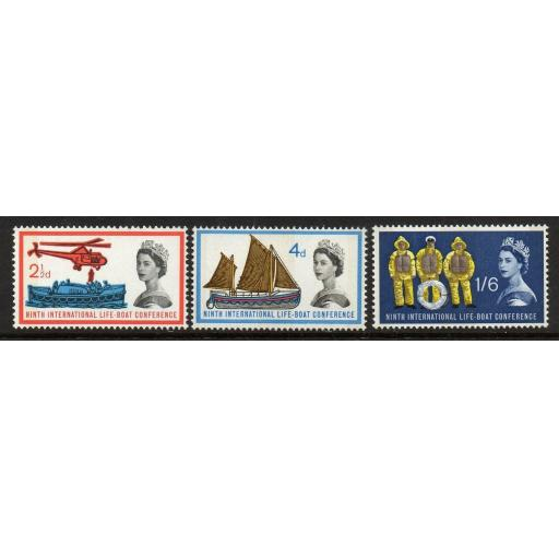 GB SG639p/41p 1963 LIFEBOAT PHOSPHOR MNH