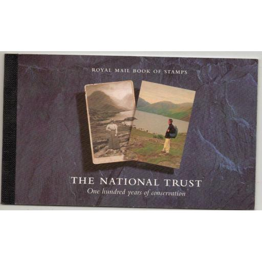 GB SGDX17 1995 NATIONAL TRUST BOOKLET MNH