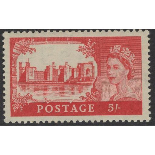 GB SG537 1955 5/= CASTLES MNH