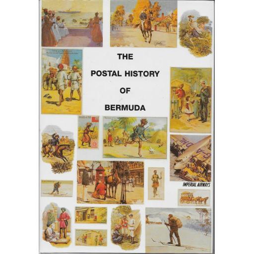 THE POSTAL HISTORY OF BERMUDA BY EDWARD B.PROUD