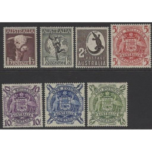 AUSTRALIA SG223/4d 1948-56 DEFINITIVE HIGH VALUES MNH