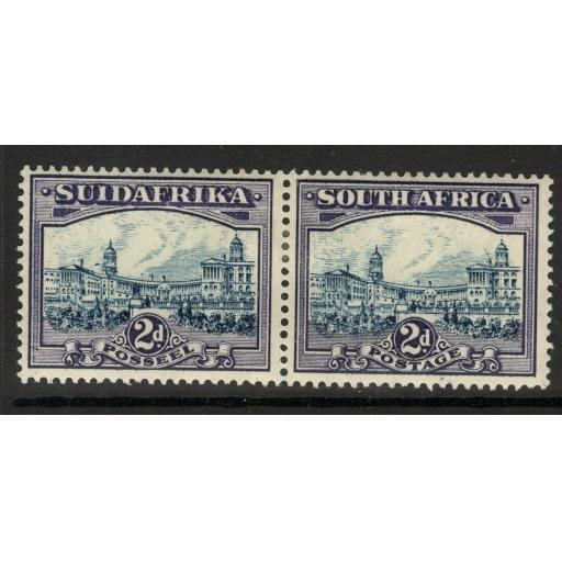 SOUTH AFRICA SG44e 1938 2d BLUE & VIOLET MTD MINT