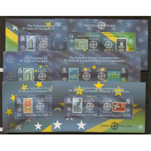 SOLOMON ISLANDS SGMS1137 2005 50th ANNIV OF EUROPA CONFRANCE MNH