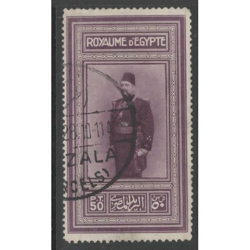 EGYPT SG134 1926 KING FUAD FINE USED