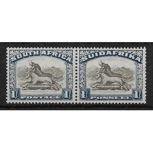SOUTH AFRICA SG48 1932 1/= BROWN & DEEP BLUE MTD MINT