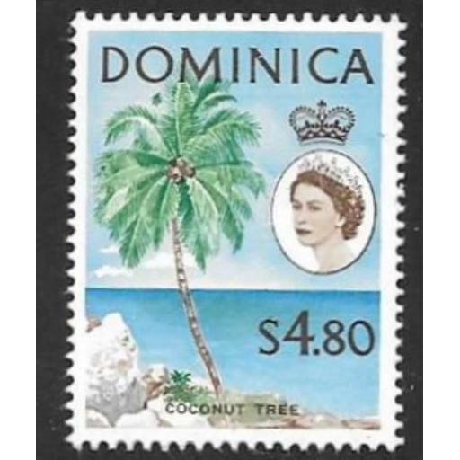 DOMINICA SG178 1963 $4.80c DEFINITIVE MNH