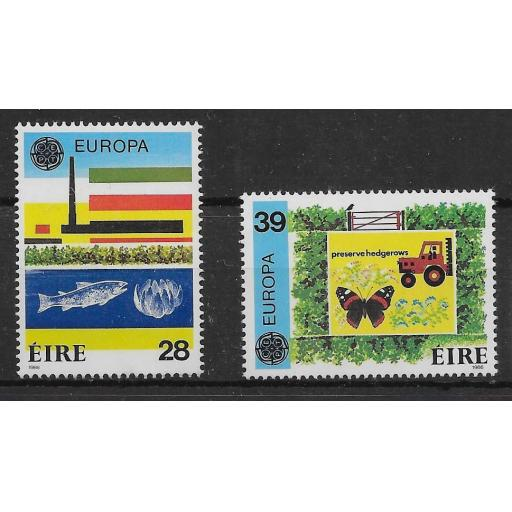 IRELAND SG635/6 1986 EUROPA SET MNH