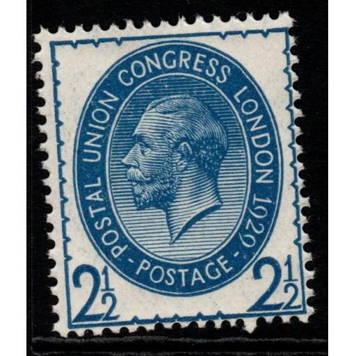 GB SGNcom8(2) 1929 PUC 2½d PALE BLUE MNH