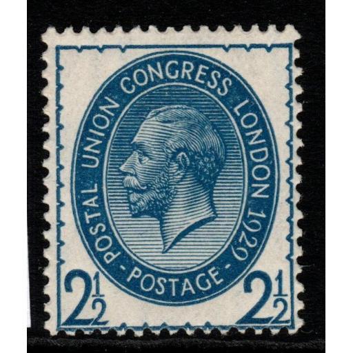GB SGNcom8(2) 1929 PUC 2½d PALE BLUE MTD MINT