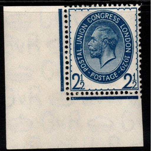 GB SG437 1929 PUC 2½d BLUE MNH