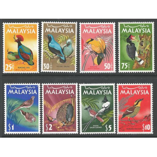 MALAYSIA SG20/7 1965 BIRDS MNH